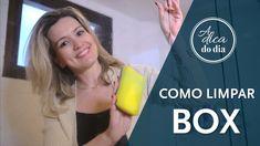 COMO LIMPAR BOX DE BANHEIRO - A Dica do Dia