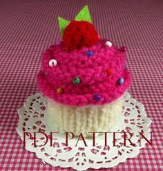 Cupcake KNITTING PATTERN Cupcake Amigurumi by LiliaCraftParty