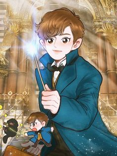 CHANYEOL AS NEWT (YOU HAVE NO IDEA HOW MUCH I LOVE THIS)