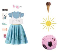 Oh yeah yeah On this sunny day by mukkyfa on Polyvore featuring Forever 21