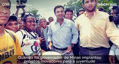 Aécio leva educação e cultura aos jovens e crianças de Minas. #AecioNeves #ParaMudarOBrasil #CoragemParaAvancar http://120diascomaecio.tumblr.com/