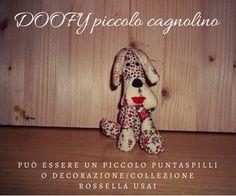 Tutorial e Cartamodello pupazzo di stoffa fatto a mano, cartamodello gratis cagnolino di stoffa, cartamodello gratis cane in stoffa. Rossella Usai http://www.dalbauledellanonna.com