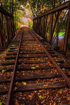 Railroad Trestle, York, Pennsylvania