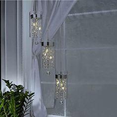 luminarias teto cristal - Pesquisa Google