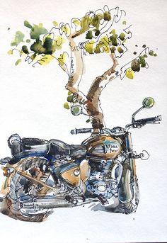 Sketching in Goa: Part 1 Suhita Shirodkar