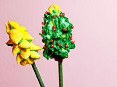 La casa de Alejandra: Árbolitos de Navidad de Malvavisco DIY Alejandra Coghlan
