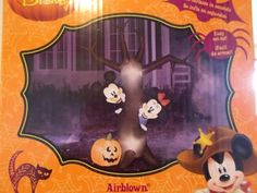 airblown inflatable disney mickey and minnie on a sleigh by gemmy christmas and halloween and easter and thanksgiving wish want pinterest disney