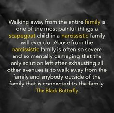 Know how hard it is. Only realized it once everyone passed away how true this is. Narcissistic Behavior, Narcissistic Abuse Recovery, Narcissistic Personality Disorder, Narcissistic Sociopath, Toxic Family Quotes, Dysfunctional Family Quotes, Trauma, Family Scapegoat, Daughters Of Narcissistic Mothers