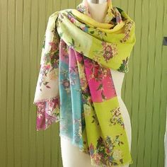 Smithsonian Breath of Spring Shawl Smithsonian. $95.00