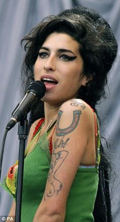 Amy Winehouse, there was just something inside of her that had to get out :(