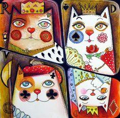 the Queen of Spades Canvas Print / Canvas Art by Oxana Zaika