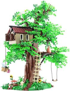 LEGO Tree House by Legopard