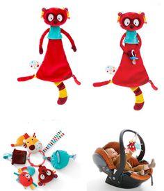 Conoces a #Georges? el #lemur de #Lilliputiens #juguetes