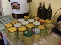 Sterilované cuketové zelí (fotorecept)