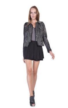 Stella and Jamie - PAM JACKET, $348.00 (http://www.stellaandjamie.com/products/pam-jacket.html)#MAKEITYOUROWN#STELLAANDJAMIEGIVEAWAY