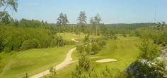 Golf course in Sweden, golfbaan in Zweden.