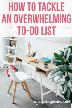 The secret to making your to-do list overwhelming. Learn three strategies that will help you tackle your to-do list, get more done, and feel more productive. Home Management, Time Management Tips, Organized Mom, Staying Organized, Planning And Organizing, Organizing Ideas, Effective Time Management, Family Planner, Amazing Life Hacks