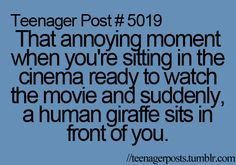 It never fails! One of the reasons I stopped going to the cinema.