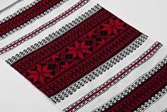 Ukrainian ethnic handmade towel with embroidery interior decor ideas