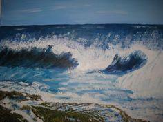 golven acrylverf