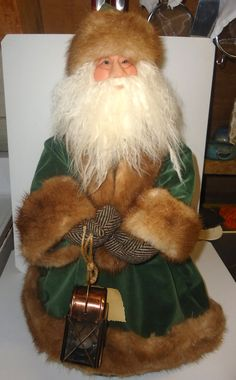 Hand Made Heirloom Originals Santa Claus St by mtnzookeeper, $89.00
