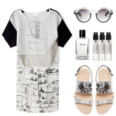 """""""Try it out."""" by nijura ❤ liked on Polyvore"""