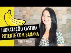 Hidratação de banana potente para reconstruir cabelos lisos ou cacheados - Bolsa de Mulher