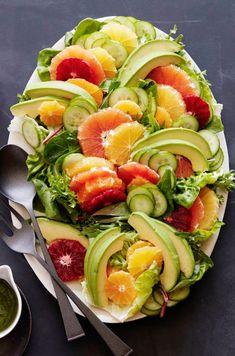 Citrus Avocado Salad from http://www.whatsgabycooking.com (/whatsgabycookin/)