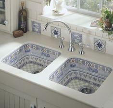 Beautiful Kitchen Sink Design By Kohler Ipc314 - Kitchen Sink Design Ideas - Al Habib Panel Doors