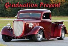 1936 Ford Pickup - Graduation Present