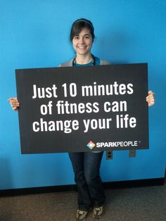 Just 10 minutes of fitness can change your life!