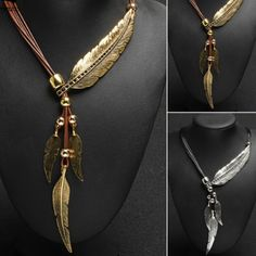 $27.50 Feather Necklace   Birds Of A Feather Flock Together... FREE shipping for both! A VERY good reason to buy one for yourself and your friend! You only have to take one look at this beautiful necklace to realize it's meant to be...