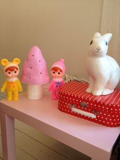 * 토끼와 핑크버섯 : 네이버 블로그 Woodland Dolls by Lapin and Me. Egmont Lamps.