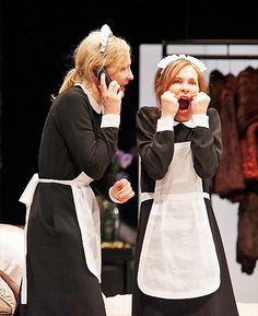 queencate:  Cate Blanchett on the play The Maids,