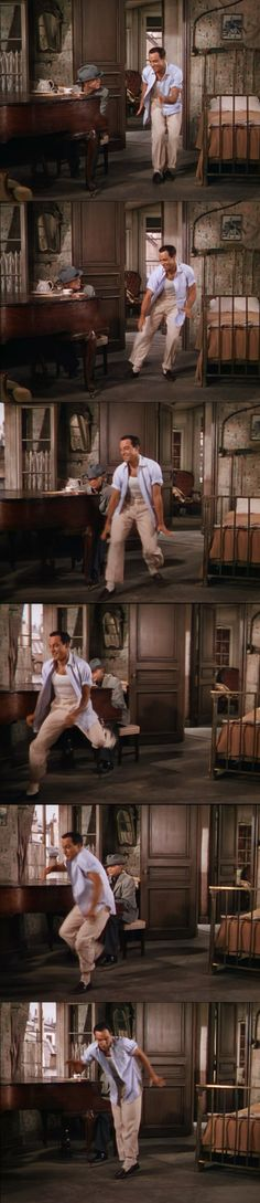 Indefatigable! Kelly never stops! American in Paris 1951