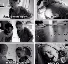 I remember when I first watched this I cried and wondered why she would want this... Now I understand..
