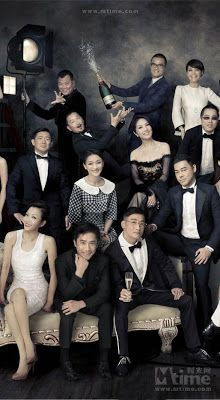 The nominees of the 32nd Hong Kong Film Awards- Tony Leung Chiu Wai, Tong Leung Ka Fai, Sean Lau Ching Wan, Nick Cheung, Chapman To, Zhou Xun, Miriam Yeung, Sammi Cheng and directors Peng Hocheung and Dante Lam. (Source: Chinese Films)