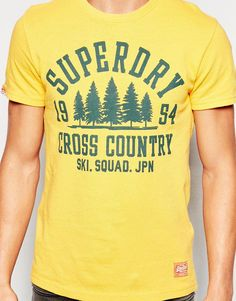 Image 3 of Superdry T-Shirt with Cross Country Print