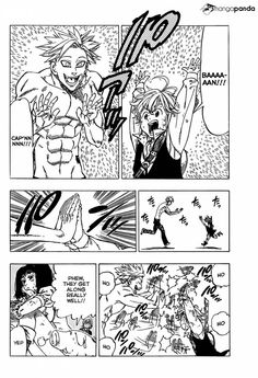 Seven Deadly Sins ~ Ban (Greed) and Mediolas (Wrath) reunite after a decade of not seeing each other