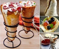 Pizza Grill Cone Set Kitchen Supplies Tools Home Utensil Dining Party Food Cook
