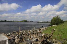 river Waal at Herwijnen, NL