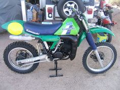 Kawasaki KX 500, This had to be treated with respect or it would definitely bite.