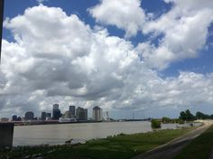 Westbank Mississippi River Algiers New Orleans