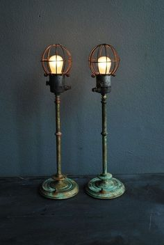 Bedroom lights....Deconstructed Lighting Fixtures for an Edgy Industrial Vibe 2