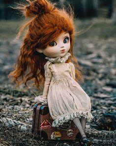 "Pohjoistuuli ☁️ on Instagram: ""— Social distancing 🌲  #pullip #pullipgretel #doll #pullipphotography #photography — Irma [Pullip Gretel]"" Disney Characters, Fictional Characters, Crochet Hats, Dolls, Disney Princess, Photography, Instagram, Art, Fashion"