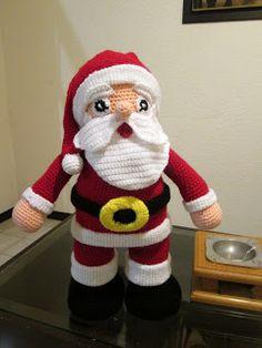 82 Besten Weihnachtsmann Häkeln Bilder Auf Pinterest Xmas