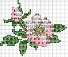 This Pin was discovered by Ayş Mini Cross Stitch, Simple Cross Stitch, Cross Stitch Rose, Cross Stitch Flowers, Cross Stitch Embroidery, Cross Stitch Designs, Cross Stitch Patterns, Christmas Embroidery Patterns, Tapestry Crochet