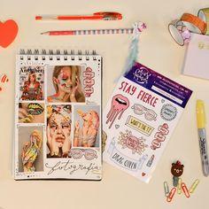 Stickers Drag Queen. Journal y Scrapbook.
