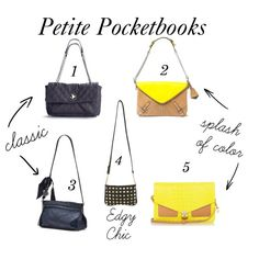 Petite Pocketbooks from Mademoiselle Michael Blog: http://mademoisellemichael.blogspot.com/2012/06/petite-pocketbooks_7551.html