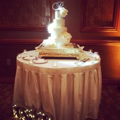 Wedding cake www.weddingplannersd.com